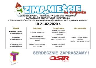 Plakat OSIR indywidualni
