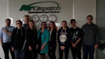Spotkanie w siedzibie firmy Air Dispatch CLC_1