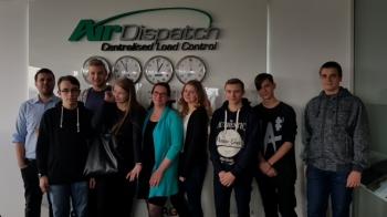 Spotkanie w siedzibie firmy Air Dispatch CLC_2