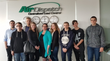 Spotkanie w siedzibie firmy Air Dispatch CLC_4