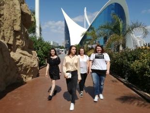 Podczas pobytu w Walencji uczniowie mieli możliwość podziwiać Oceanogràfic – oceanarium i morską stację badawczą położona na terenie Ciutat de les Arts i les Ciències w pobliżu walenckiego portu.