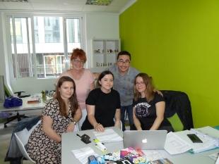 Karolina and Martyna w pracy w firmie Your Place SL