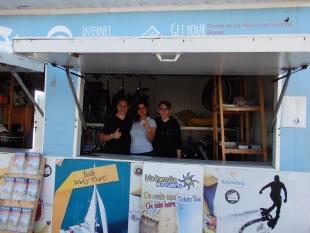 Jakub i Łukasz w pracy w firmie Mundo Marino