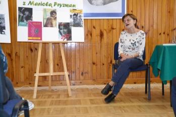 Spotkanie z pisarką Mariolą Pryzwan